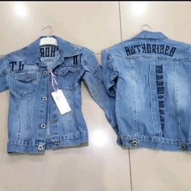 Куртка джинс дівчинка 39390