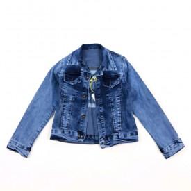 Куртка джинс дівчинка 28055