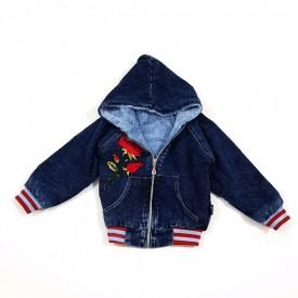 Куртка дів.джинс на махрі 25285